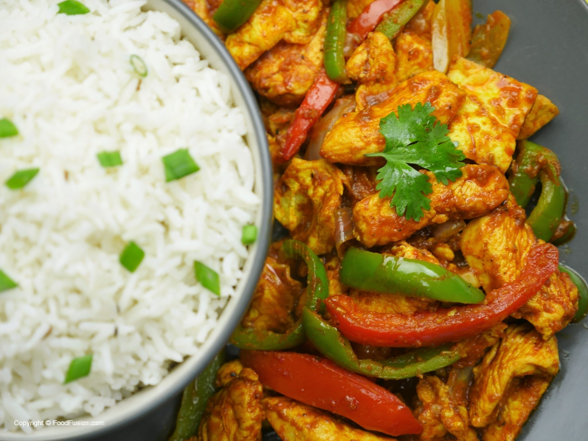 Chicken Jalfrezi Food Fusion