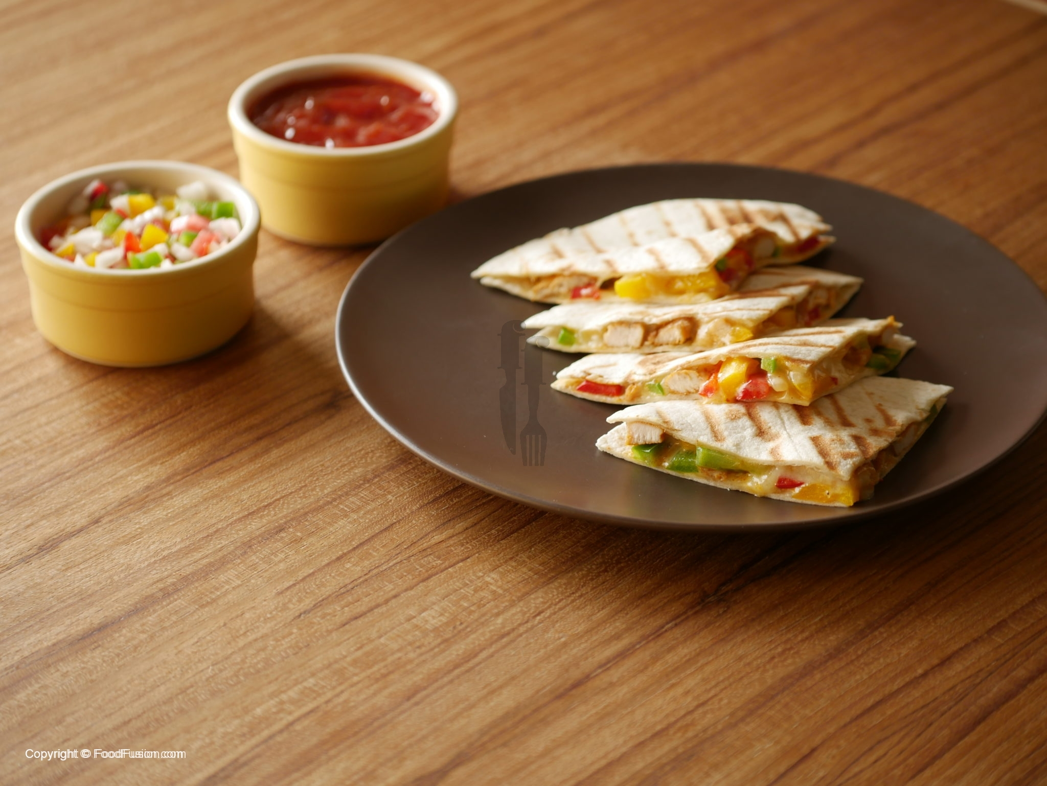 Chicken Quesadillas Recipe By Food Fusion Food Fusion