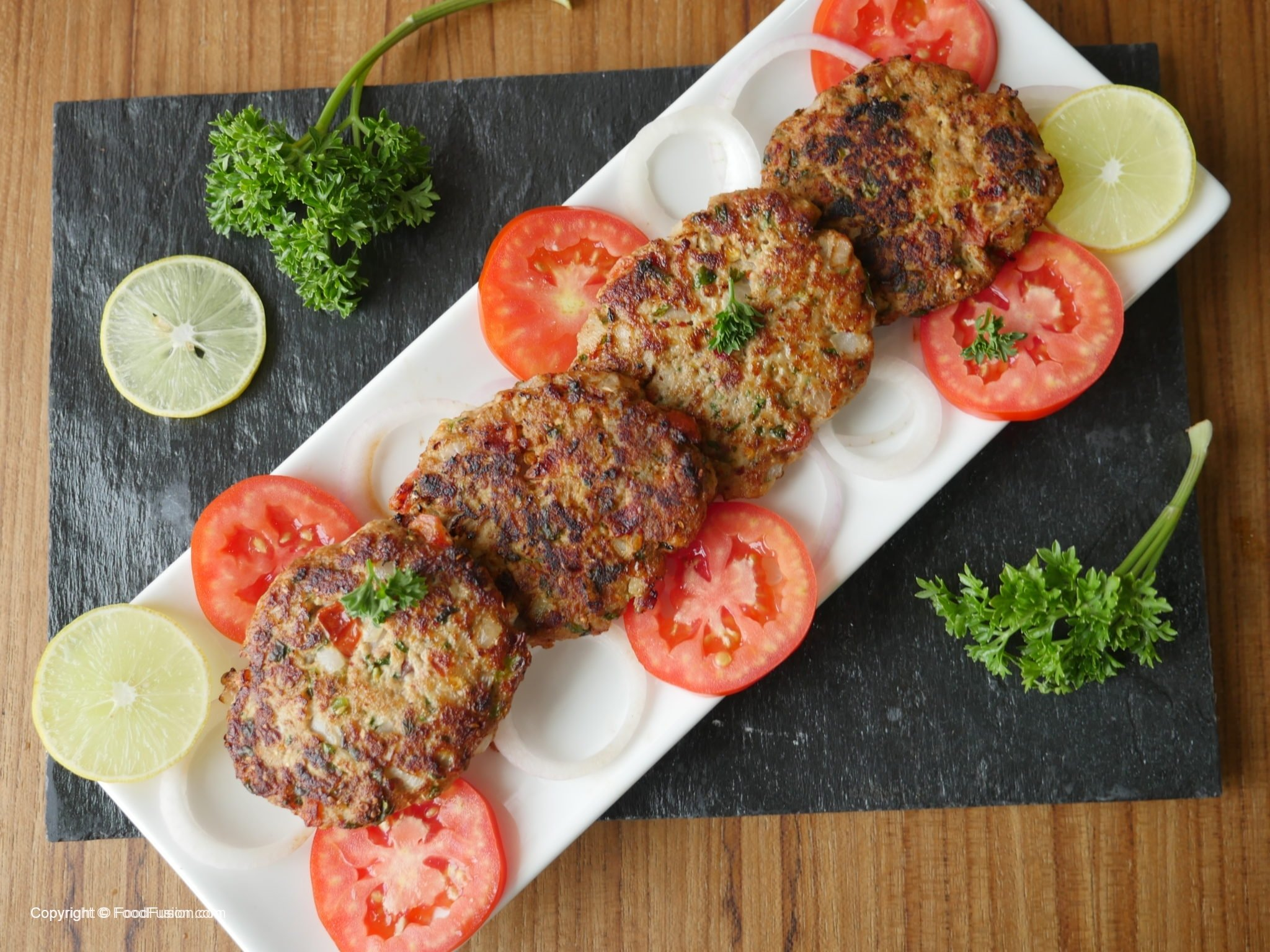 Chicken Chapli Kabab Recipe Food Fusion