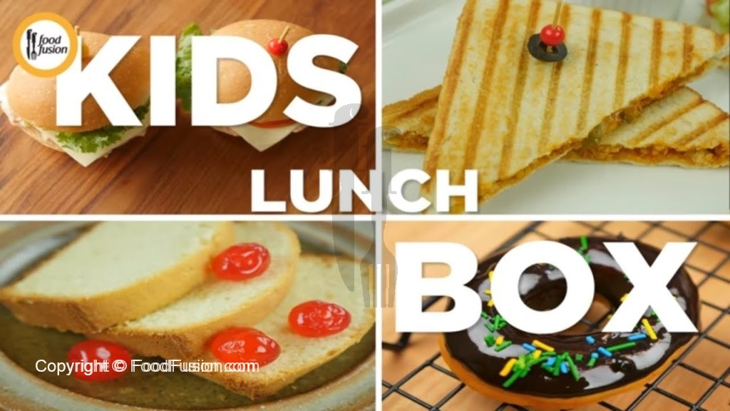 Kids Lunch Box Recipe Food Fusion