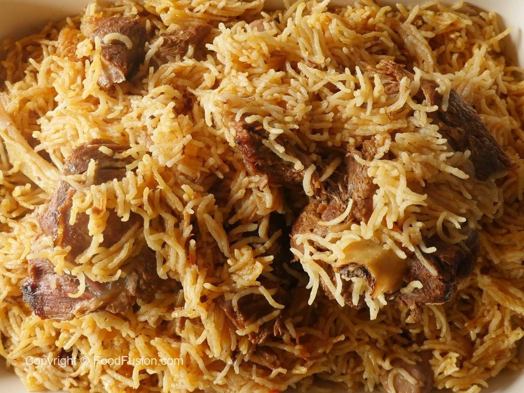 Mutton Kabsa Food Fusion